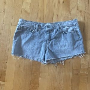 Joes Jeans Gray Cutoff Jean Shorts